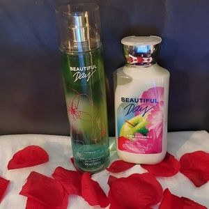 Bath & Body Works set - Beautiful Day